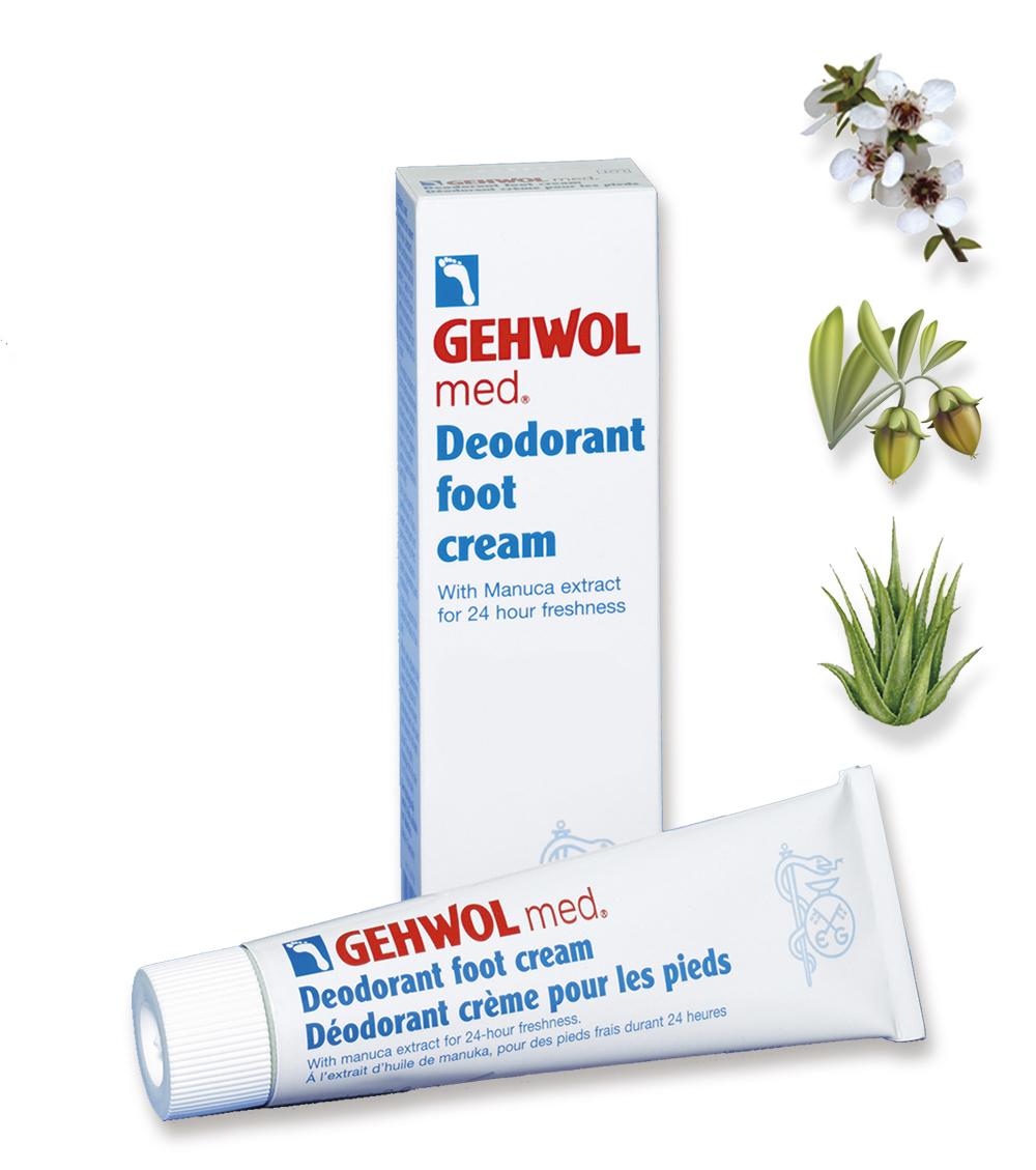 КРЕМ-ДЕЗОДОРАНТ, gehwol, foot, med, cream